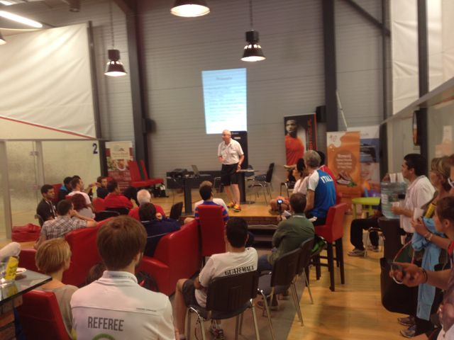 WSF coaching conference Poland – Elite Squash – adults