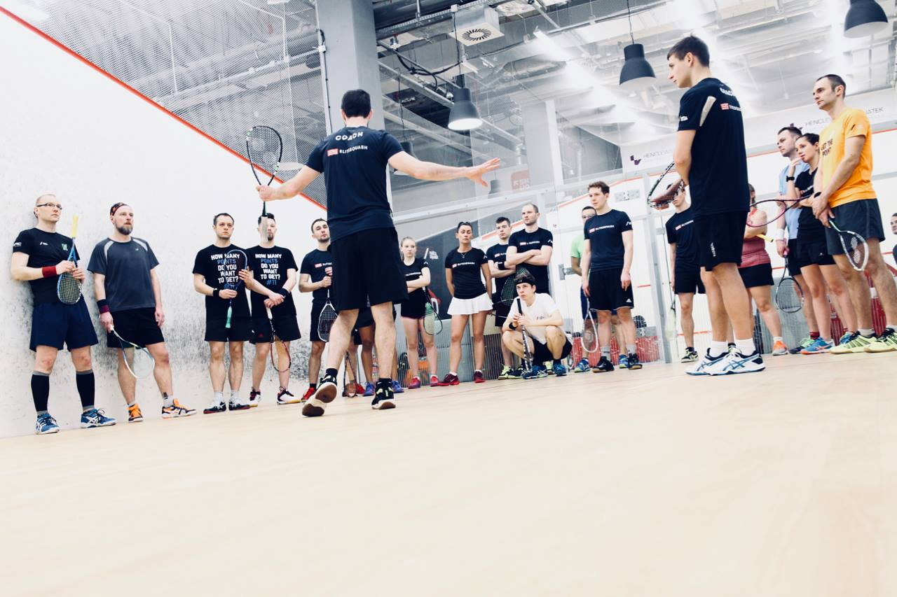 group coaching elite squash adults juniors groups camps